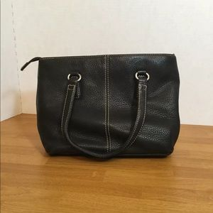 Fossil Leather Black Purse